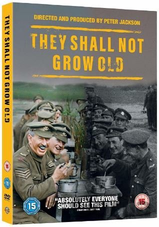 DVD They Shall Not Grow Old - Peter Jackson