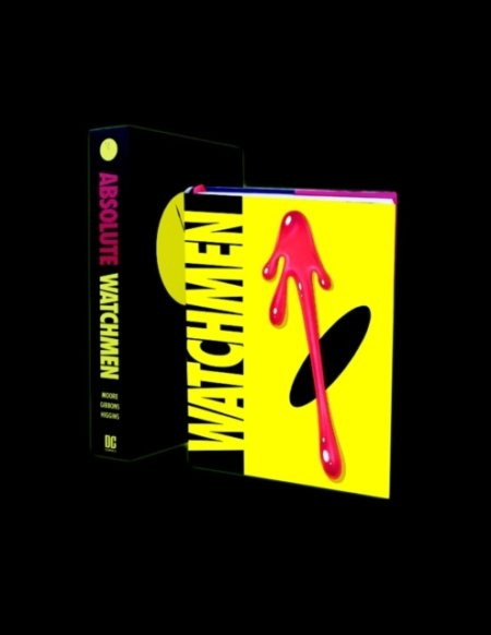 Kniha Watchmen Absolute Edition - Alan Moore, Dave Gibbons