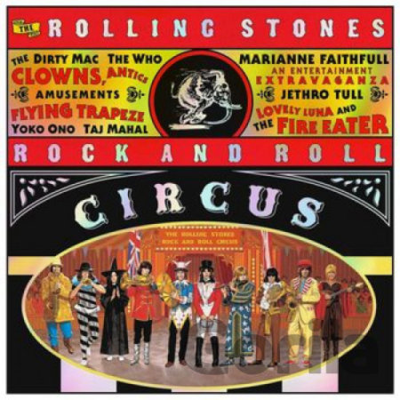 CD album The Rolling Stones: Rock And Roll Circus