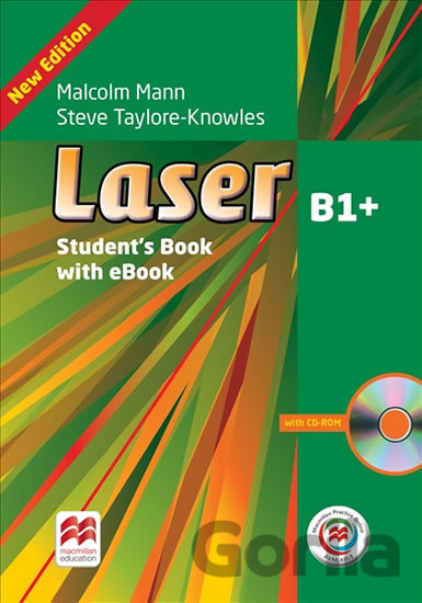 Kniha Laser B1+ - Student's Book with eBook - Malcolm Mann, Steve Taylore-Knowle