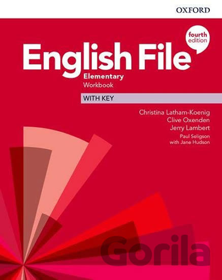 Kniha New English File - Elementary - Workbook with Key - Clive Oxenden, Christina Latham-Koenig
