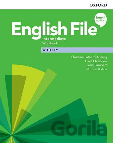 Kniha New English File - Intermediate - Workbook with Key - Clive Oxenden, Christina Latham-Koenig
