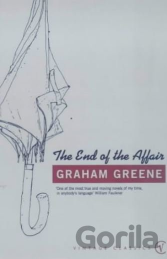 Kniha The End of The Affair - Graham Greene