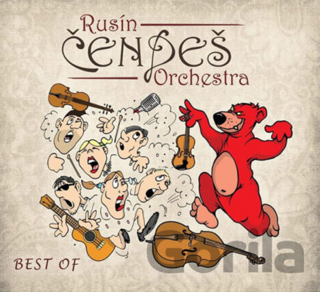 CD album Rusín Čendeš Orchestra: Best Of CD