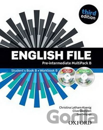 Kniha English File - Pre-intermediate Multipack B (without CD-ROM) - Clive Oxenden, Christina Latham-Koenig