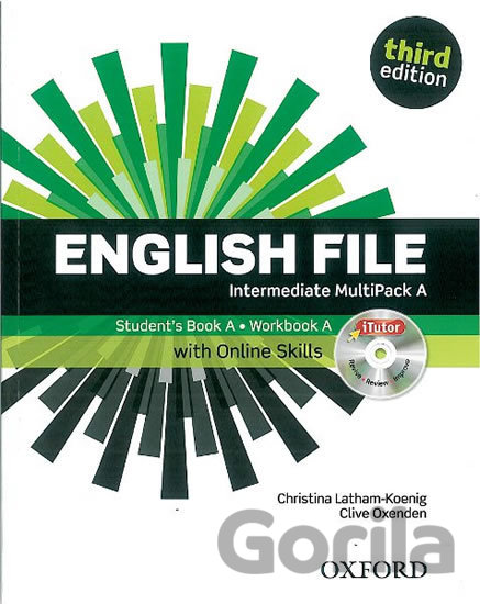 Kniha English File - Intermediate - Multipack A with Online Skills - Clive Oxenden, Christina Latham-Koenig