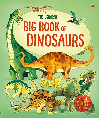 Kniha Big Book of Dinosaurs - Alex Frith