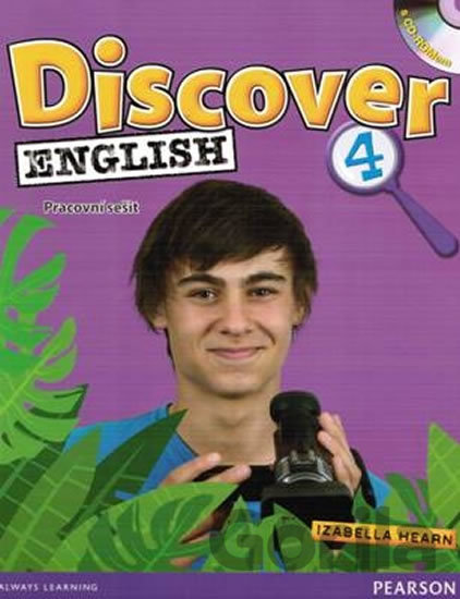 Kniha Discover English 4 - Workbook CZ Edition - Ingrid Freebairn