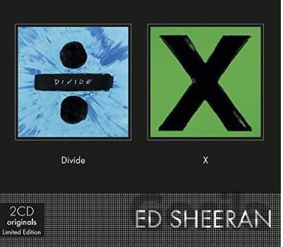 CD album Ed Sheeran: Divide / X