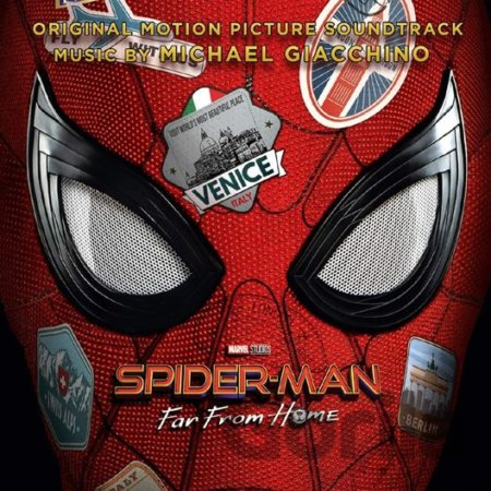 CD album Spider-man: Far From Home