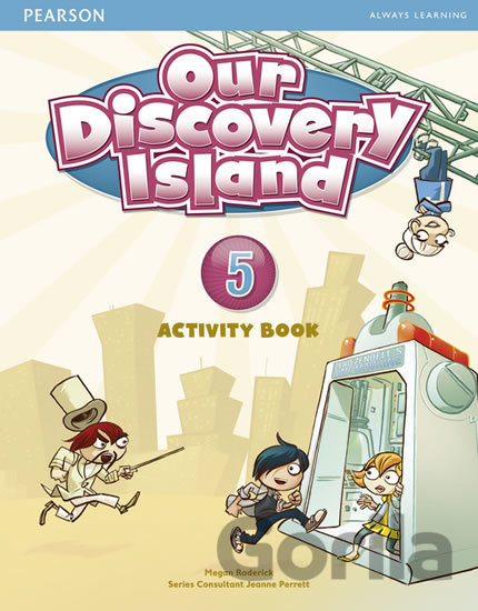 Kniha Our Discovery Island 5 - Activity Book - Megan Roderick