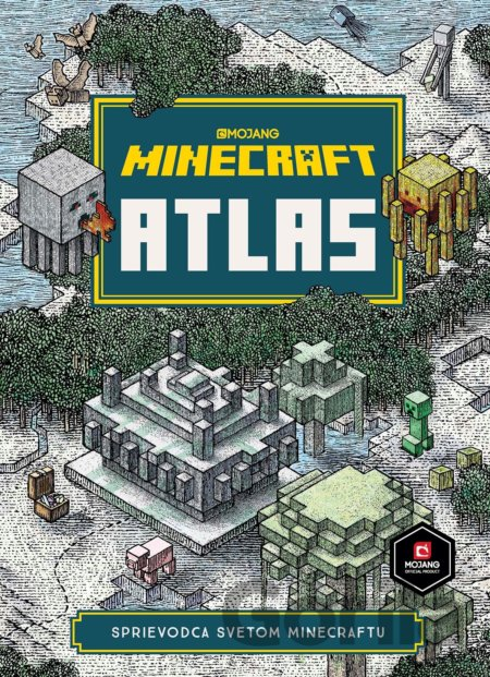 Kniha Minecraft - Atlas -