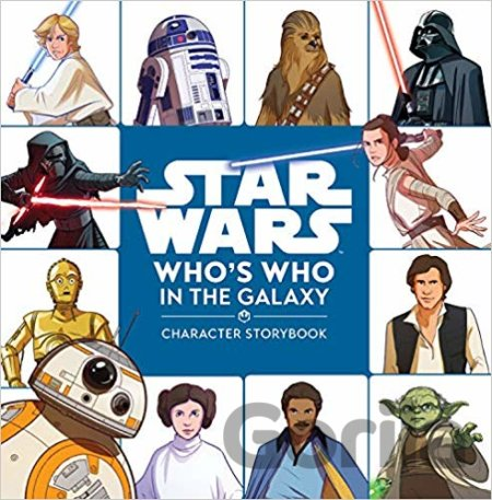 Kniha Star Wars: Who's Who in the Galaxy - Ella Patrick