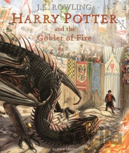 Kniha Harry Potter and the Goblet of Fire - J.K. Rowling