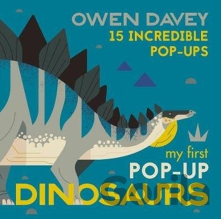 Kniha My First Pop-Up Dinosaurs - Owen Davey