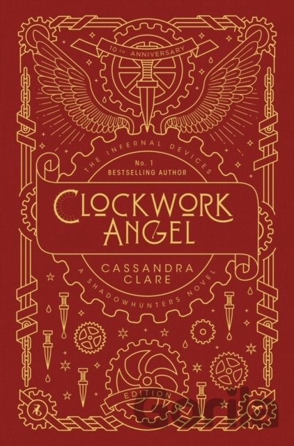 Kniha Clockwork Angel  - Cassandra Clare
