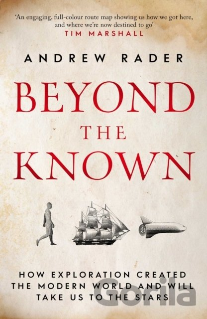 Kniha Beyond the Known - Andrew Rader