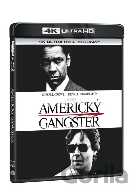 UltraHDBlu-ray Americký gangster Ultra HD Blu-ray - Ridley Scott