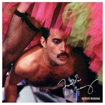 CD album Freddie Mercury: Never Boring