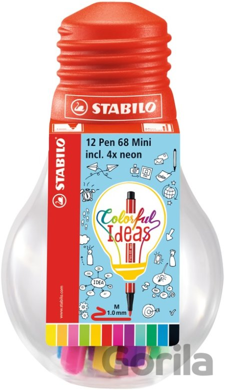 STABILO Pen 68 Mini Colorful Ideas