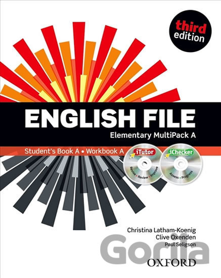 Kniha English File - Elementary - Multipack A - Clive Oxenden, Christina Latham-Koenig