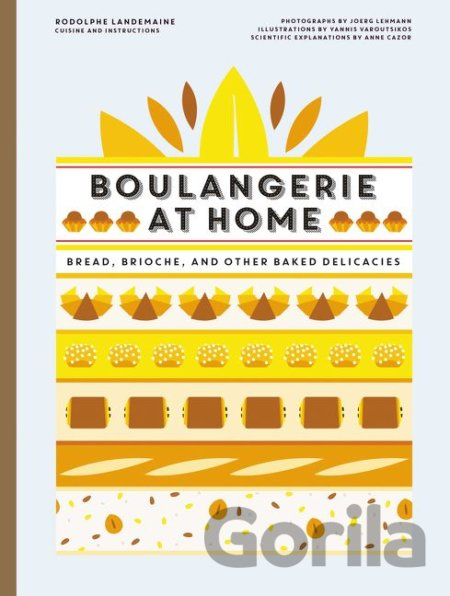 Kniha French Bread at Home - Rodolphe Landemaine