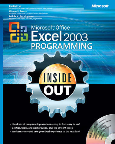 Kniha Microsoft® Office Excel 2003 Programming Inside Out - Curtis Frye, Wayne S. Freeze, Felicia K. Buckingham