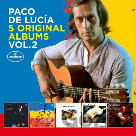 CD album Paco de Lucia: 5 Original Albums Vol.2