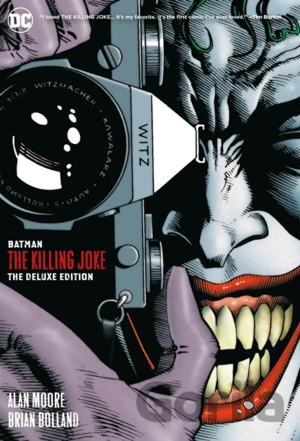 Kniha Batman: The Killing Joke - Alan Moore