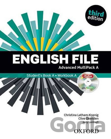 Kniha English File: Advanced - Multipack A - Clive Oxenden, Christina Latham-Koenig