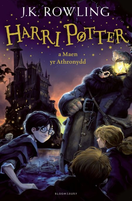 Kniha Harry Potter and the Philosopher's Stone (Welsh) - J.K. Rowling