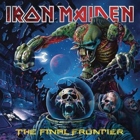 CD album Iron Maiden: The Final Frontier