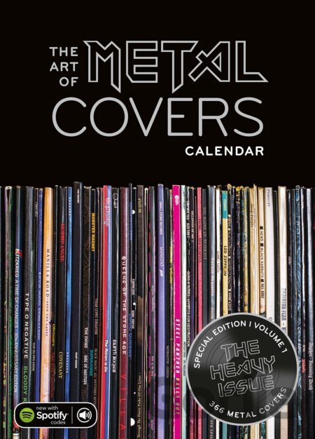 The Art of Metal Covers (Calendar)