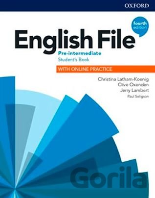 Kniha English File: Pre-Intermediate - Student's Book with Student Resource Centre Pack - Clive Oxenden, Christina Latham-Koenig