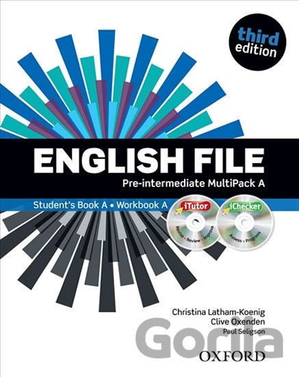 Kniha English File: Pre-intermediate - Multipack A with Oxford Online Skills - Clive Oxenden, Christina Latham-Koenig