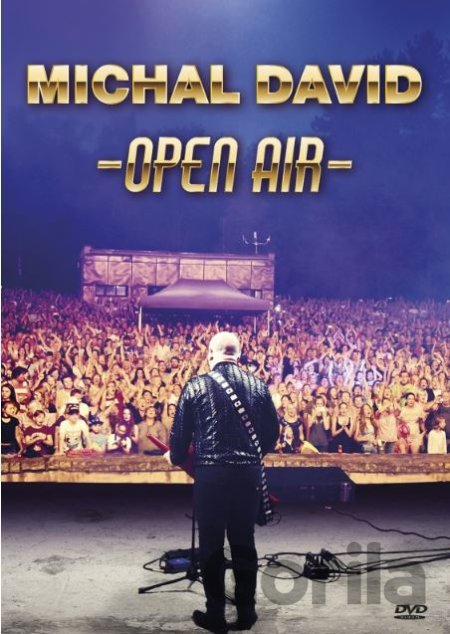 DVD Michal David: Open Air - Michal David