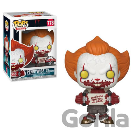 Funko POP Movies: IT Chapter 2 - Pennywise w/ Skateboard