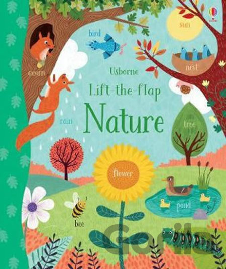 Kniha Lift-the-Flap: Nature - Jessica Greenwell