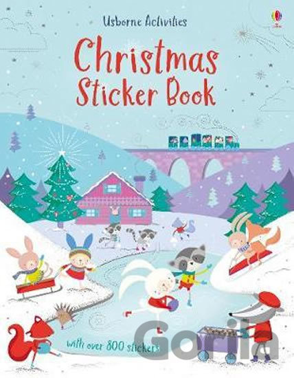 Kniha Christmas Sticker Book - Lucy Bowman