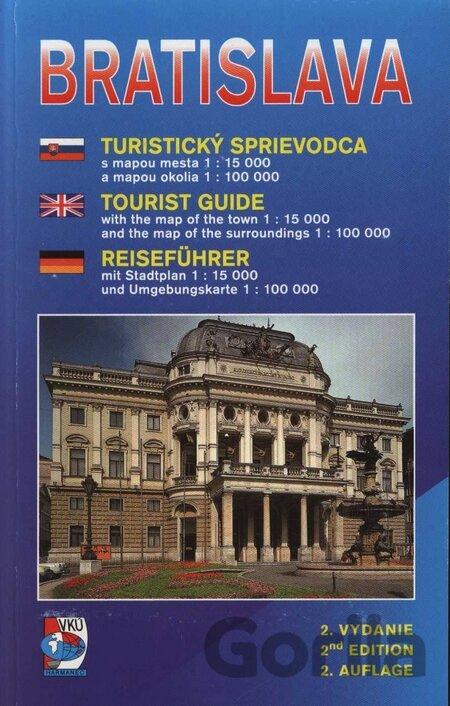 9756cf6c3 Kniha: Bratislava - turistický sprievodca() za 2,90€ | Gorila