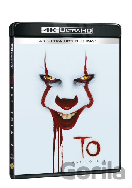 UltraHDBlu-ray To Kapitola 2 HD Blu-ray - Andy Muschietti