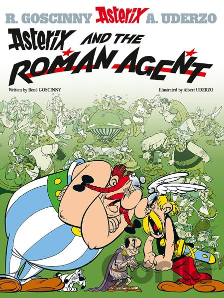 Kniha Asterix and the Roman Agent - René Goscinny