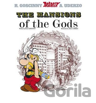 Kniha Asterix The Mansions of the Gods - René Goscinny