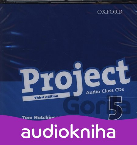 Audiokniha Project, 3rd Edition 5 Class Class Audio CD's /2/ (Hutchinson, T.) [Audio CD] - Tom Hutchinson