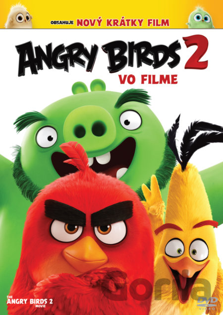 DVD Angry Birds ve filmu 2 - Thurop Van Orman, John Rice