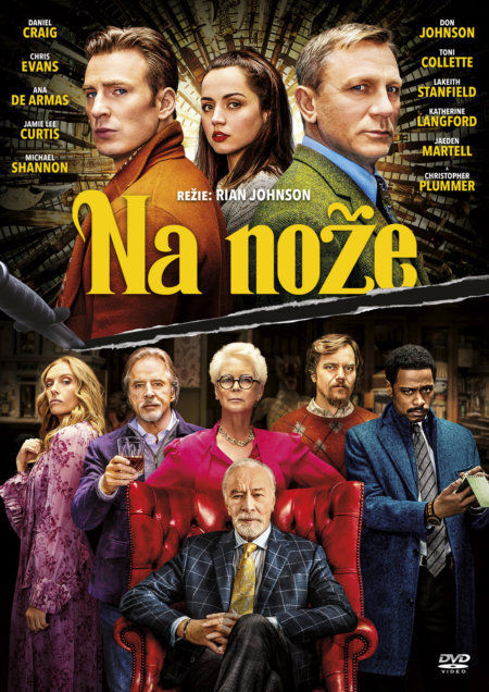DVD Na nože - Rian Johnson