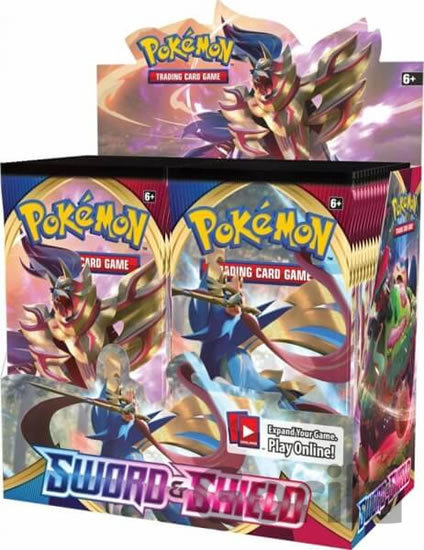 Hra Pokémon TCG: Sword and Shield 1 Blister Booster