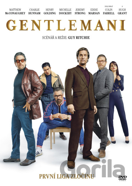 DVD Gentlemeni - Guy Ritchie