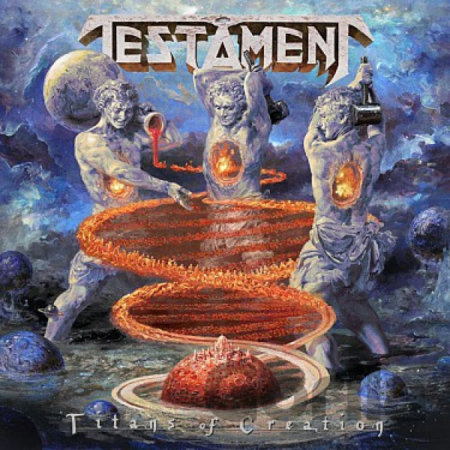 CD album Testament: Titans Of Creation