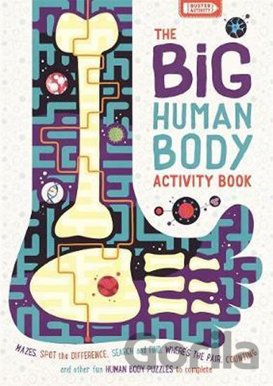 Kniha The Big Human Body Activity Book - Rhys Jefferys